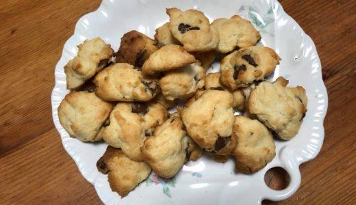 長男が好きなクッキーを焼いて・・・。