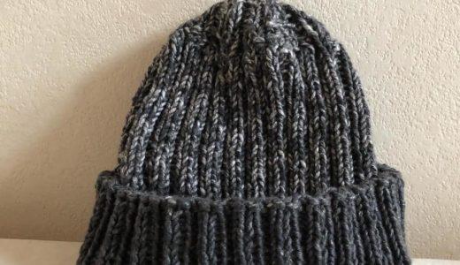 寒い日は、編み物♪